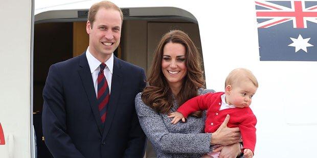 Baby George: Ein kleiner Tyrann?