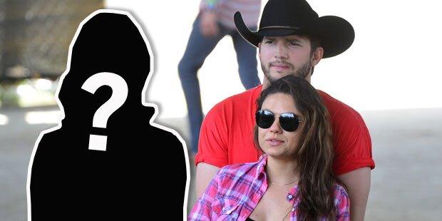 Mila Kunis & Ashton Kutcher: Diese Lady küssten beide