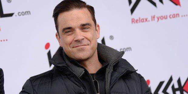 Robbie Williams erklärt Geburtsshow