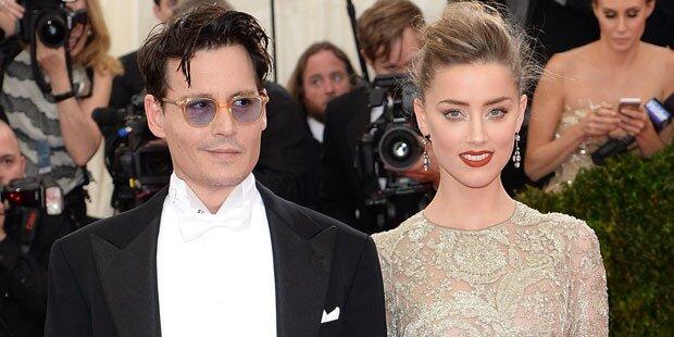Depp: Hochzeit zu Silvester?
