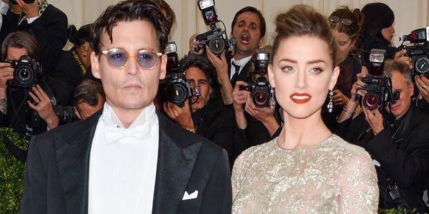 Depp: Hochzeit mit Amber auf Eis?