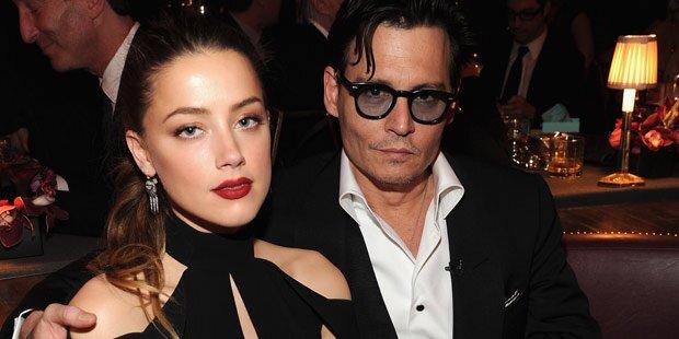 Depp & Heard: Zoff wegen Ehevertrag