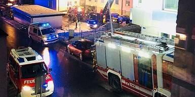 Feuerwehr Wohnungsbrand Zell am See