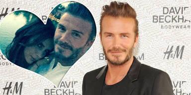 David Beckham: Liebeserklärung auf Instagram