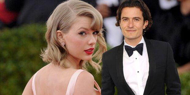 Orlando Bloom baggert Taylor Swift an