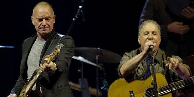 Sting & Paul Simon: Gemeinsame Tour