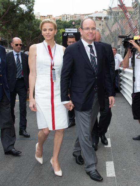 Charlène Monaco und Fürst Albert