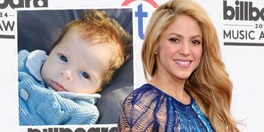 Shakira zeigt Baby Sasha
