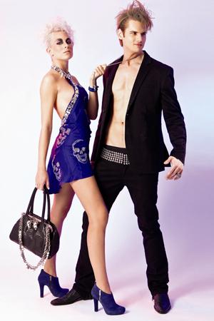 4 MADONNA Models in rockiger Mode von Philipp Plein