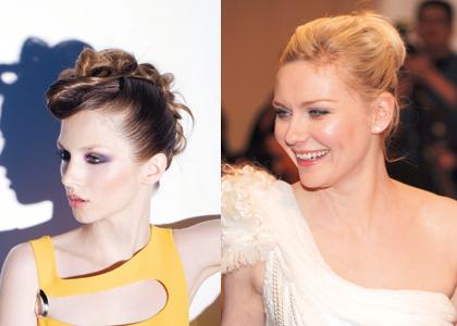 4 Star-Frisuren einfach nachstylen