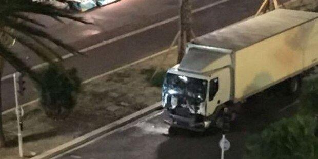 Nizza: Lkw raste in Menschenmenge - Dutzende Tote