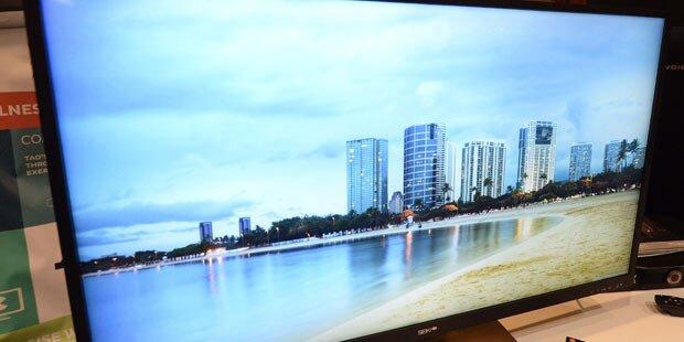 Neue Super-TVs kurbeln Geschäft an