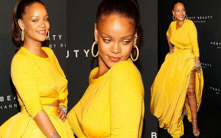 Rihanna lässt den BH zu Hause