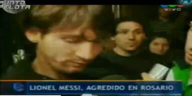 Aufgebrachter Fan ohrfeigt Lionel Messi