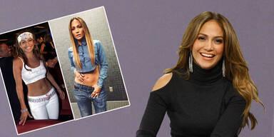 Jennifer Lopes zeigt sich stolz im Vintage-Outfit