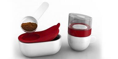 Piamo: Der kleinste Kaffee-Vollautomat für die Mikrowelle