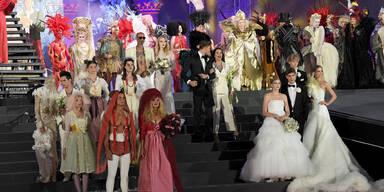 Fashion Show: Brautmode am Life Ball