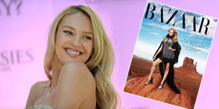 Candice Swanepoel: umwerfend im Harper's Bazaar