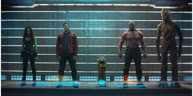 Neuer Marvel-Blockbuster: Guardians of the Galaxy