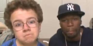 50 Cent ist Fan von YouTube-Star