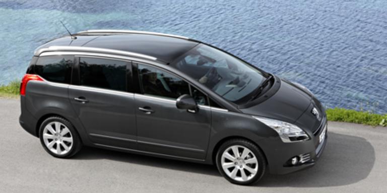 Erster Kompakt-Van von Peugeot heißt 5008
