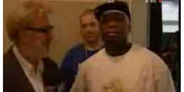 Wurde 50 Cent in Zagreb beim Koksen erwischt?
