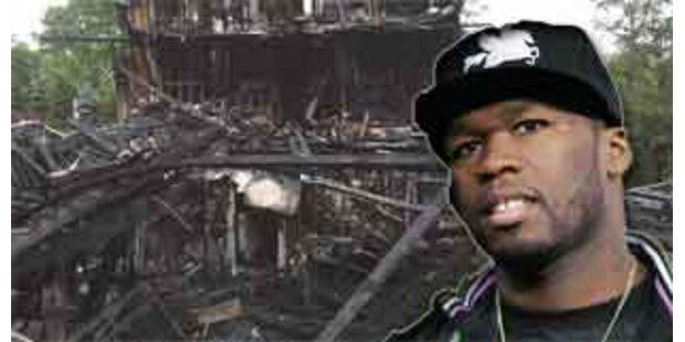 Haus von Rapper 50 Cent abgebrannt