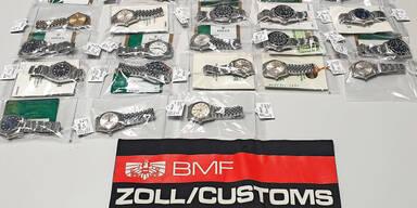 Zöllner mit Rolex-Riecher: 38 Uhren entdeckt