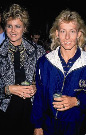 Martina Navratilova und Judy Nelson