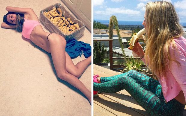 Warum diese Frau 51 Bananen am Tag isst