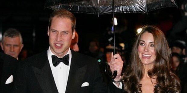 William & Kate bei