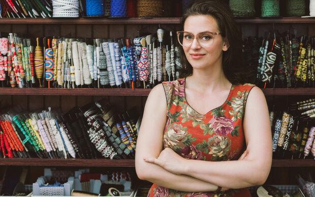 Lena Hoschek: Stocksale in Wien