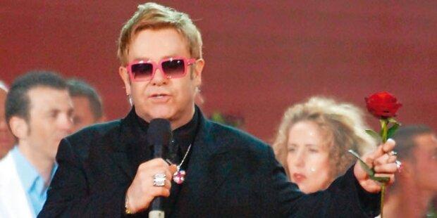 Topgerücht: Conchita trifft Elton John!
