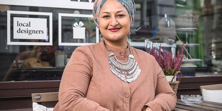 Autorin Menerva Hammad lädt zum Umdenken ein