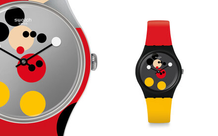 Swatch x Damien Hirst & Mickey Mouse