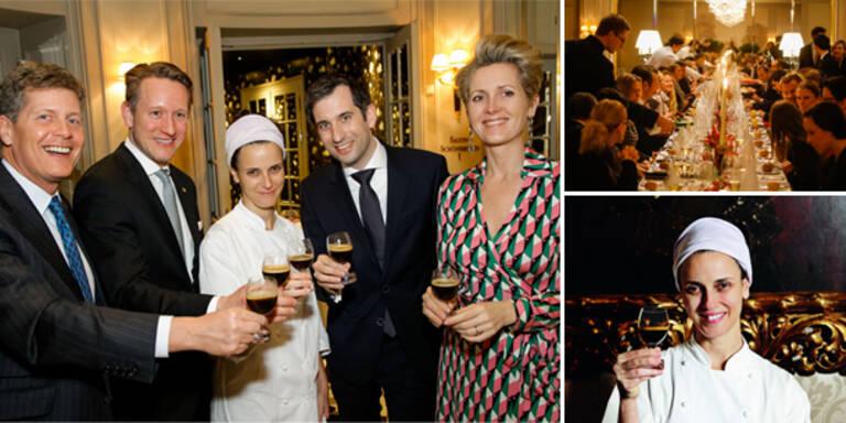 Helene Rizzo kochte in Wien auf