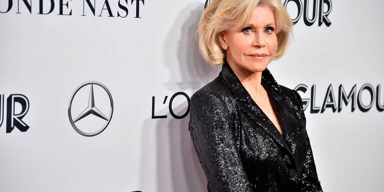 Jane Fonda verkauft Jogginganzüge