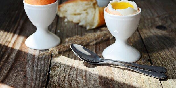 Eier niemals mit Silberlöffeln essen