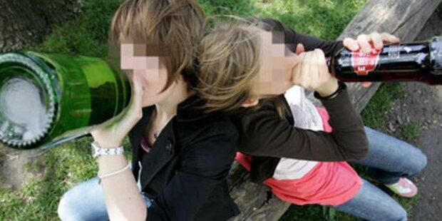 Randale: Sauforgie von 13-jährigen Mädchen eskaliert