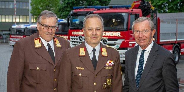 Neuer Chef der Salzburger Feuerwehr
