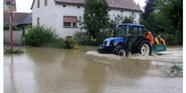 Salzburg fürchtet sich vor Überschwemmungen und Muren