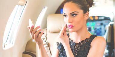 Beauty-Tipps Langstreckenflug