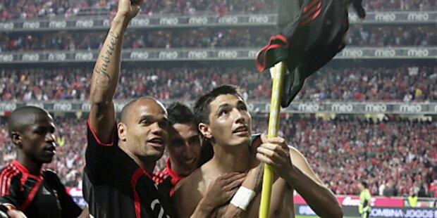 Benfica Lissabon kommt Titelgewinn immer näher