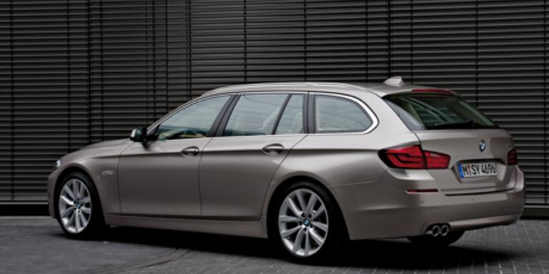 Weltpremiere des neuen BMW 5er Touring