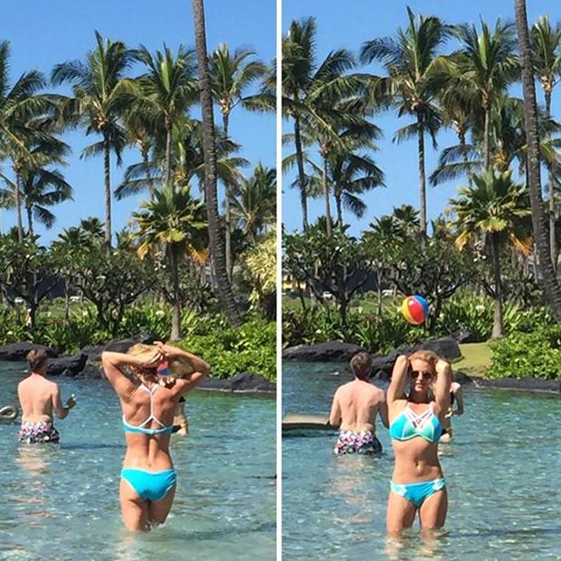 Britney Spears: Urlaub auf Hawaii