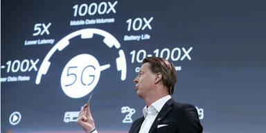 Highspeed-Netz 5G sprengt Dimensionen