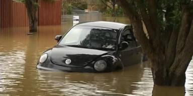 Wieder Hochwasser in Australien