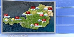 Wetterupdate: teils bewölkt, im Osten sonnig