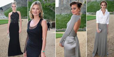 Cara, Kate & Co. zu Besuch bei Prinzwilliam