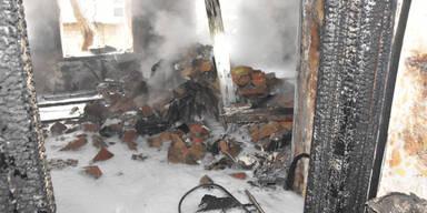 Explosion in Wien: Die ersten Bilder aus dem Haus